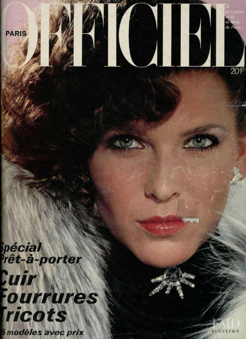 featured on the L\'Officiel France cover from October 1978