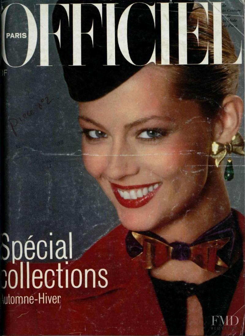 featured on the L\'Officiel France cover from September 1978