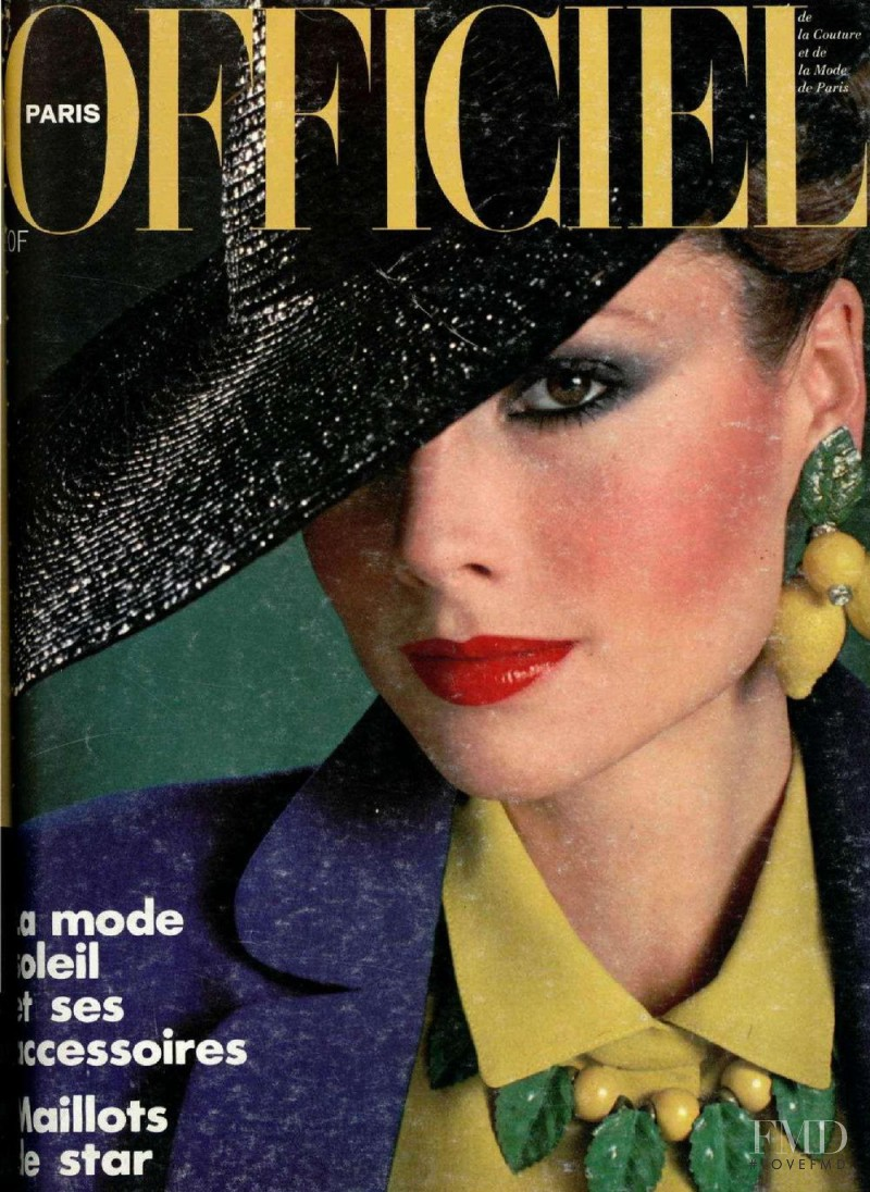 featured on the L\'Officiel France cover from April 1979