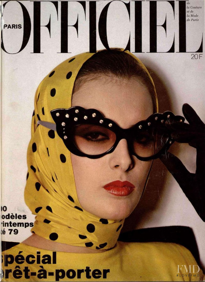 featured on the L\'Officiel France cover from February 1979