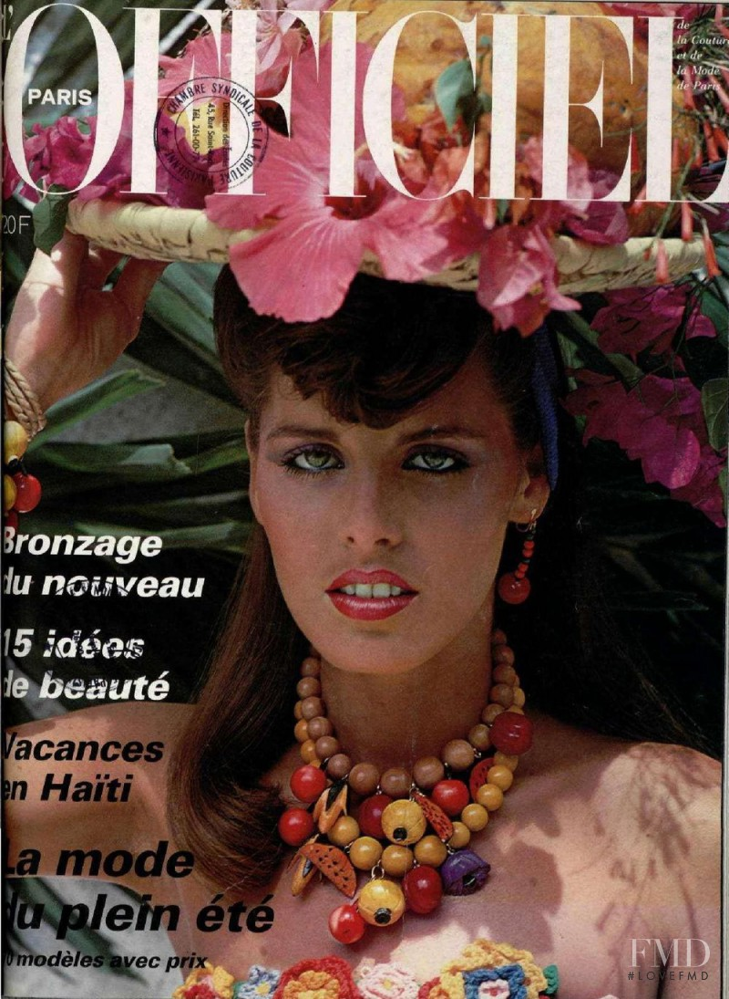 featured on the L\'Officiel France cover from June 1979
