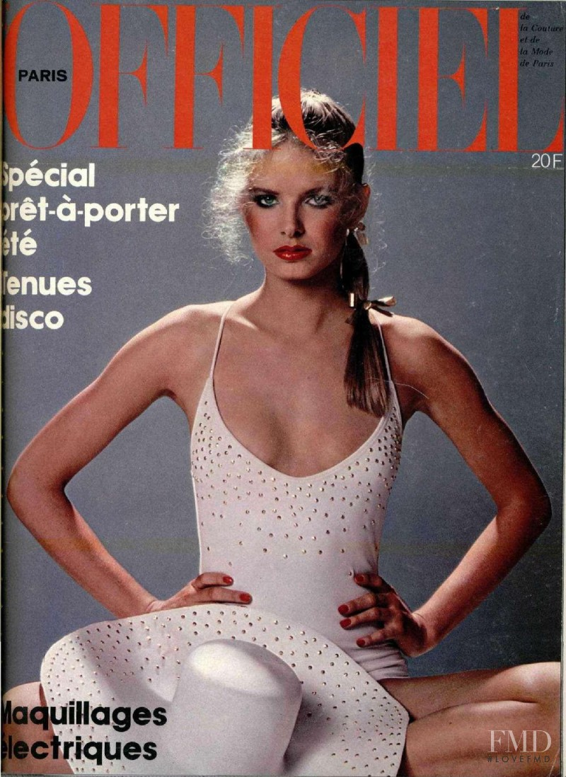 featured on the L\'Officiel France cover from May 1979