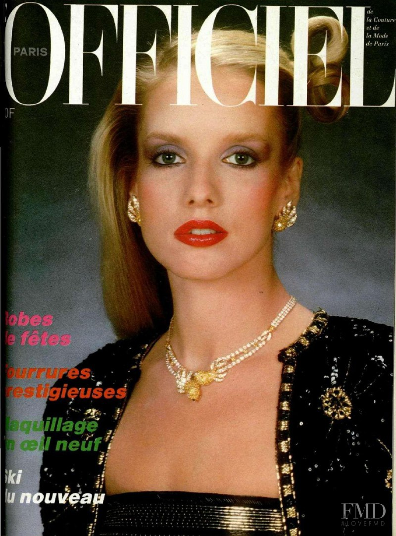 featured on the L\'Officiel France cover from November 1979