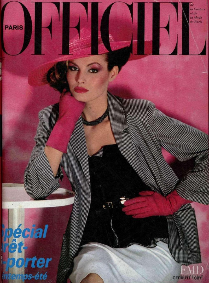 featured on the L\'Officiel France cover from April 1980