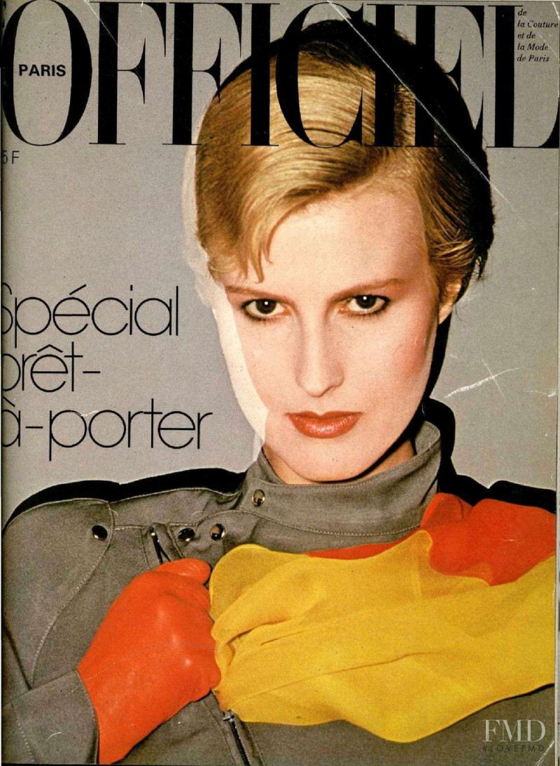 featured on the L\'Officiel France cover from August 1980