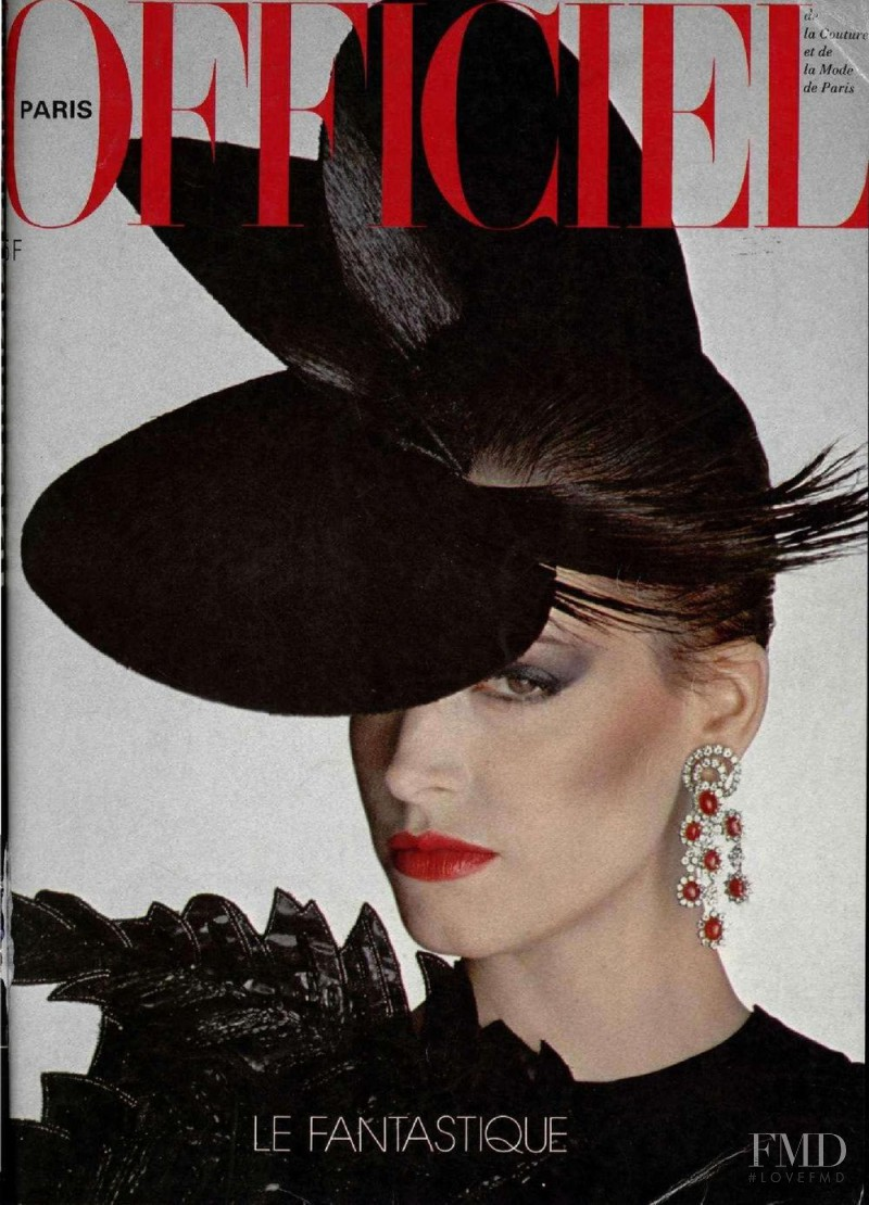 featured on the L\'Officiel France cover from December 1980