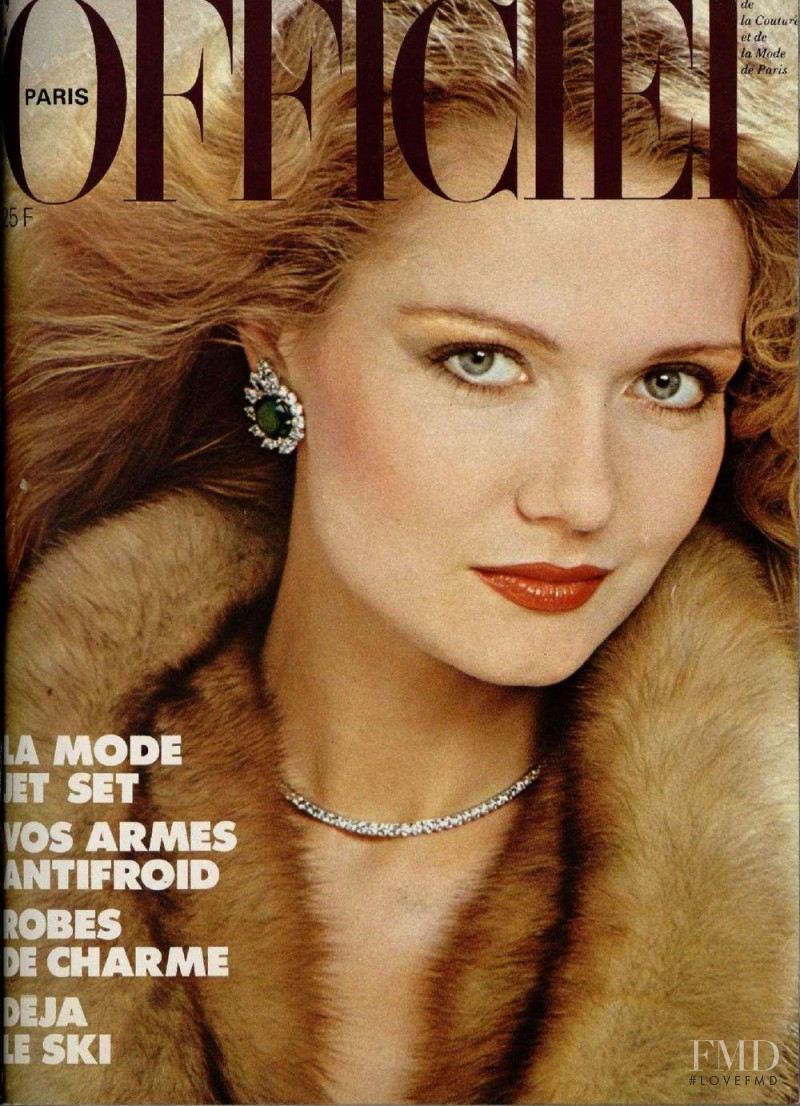 featured on the L\'Officiel France cover from November 1980