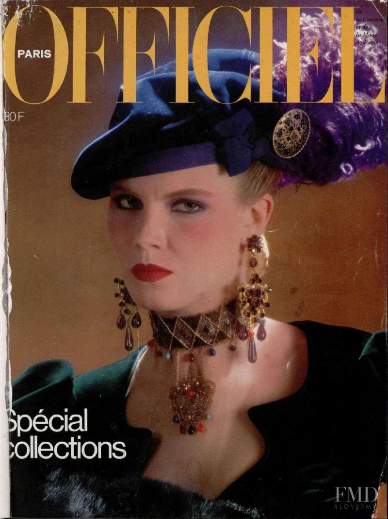 featured on the L\'Officiel France cover from September 1980