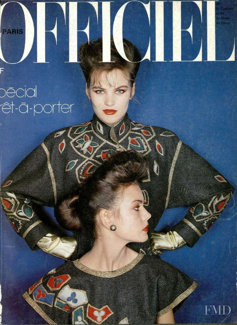 featured on the L\'Officiel France cover from August 1981