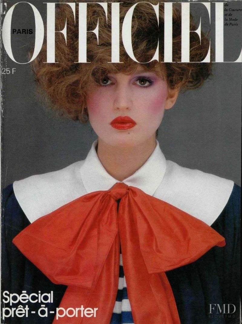 featured on the L\'Officiel France cover from February 1981