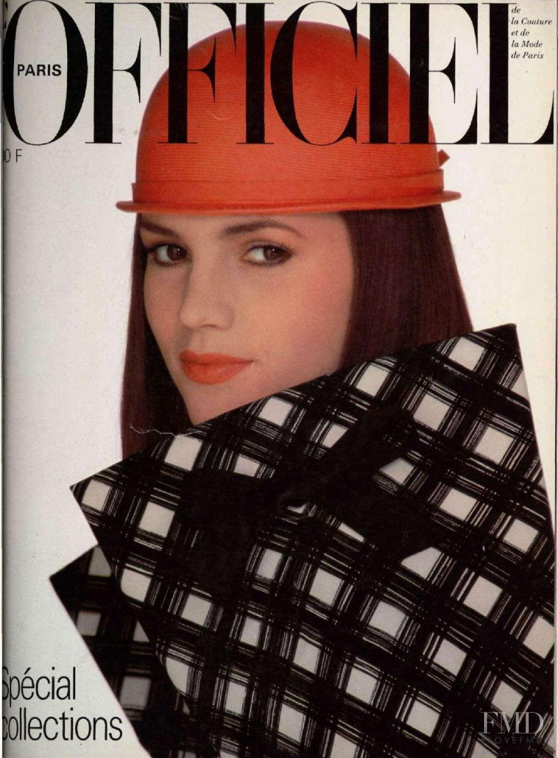 featured on the L\'Officiel France cover from March 1981