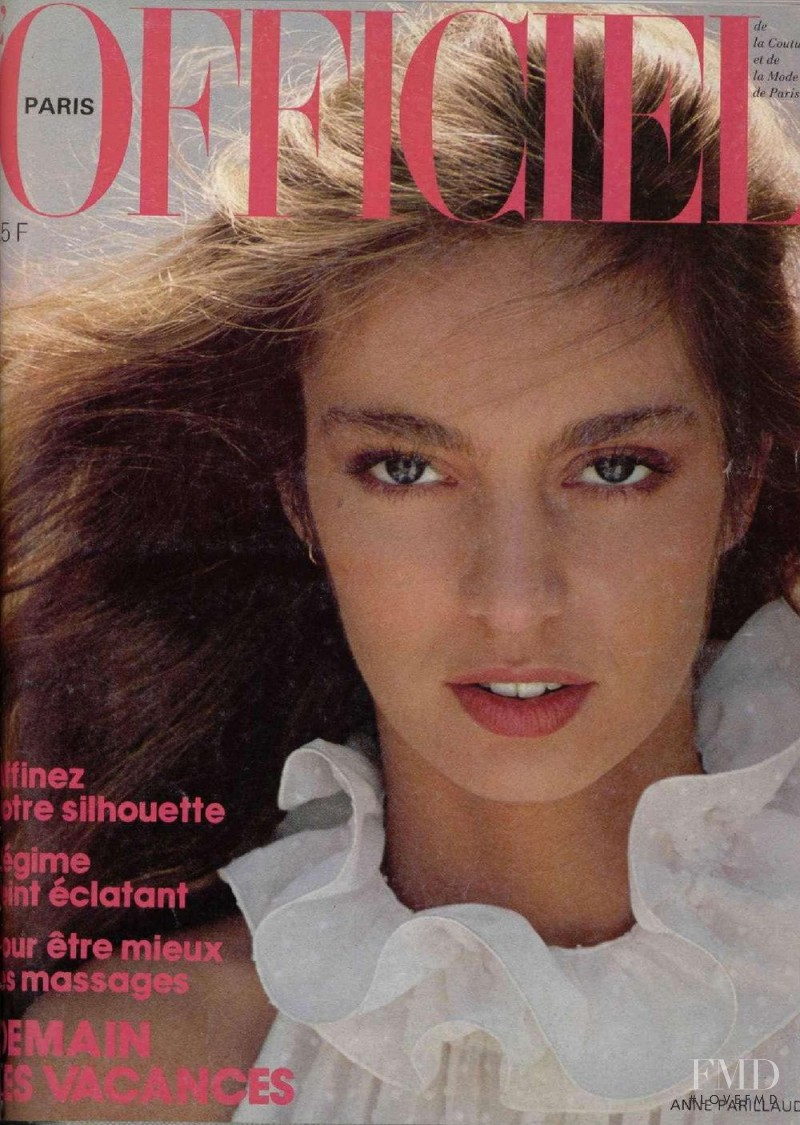 Anne Parillaud featured on the L\'Officiel France cover from May 1981