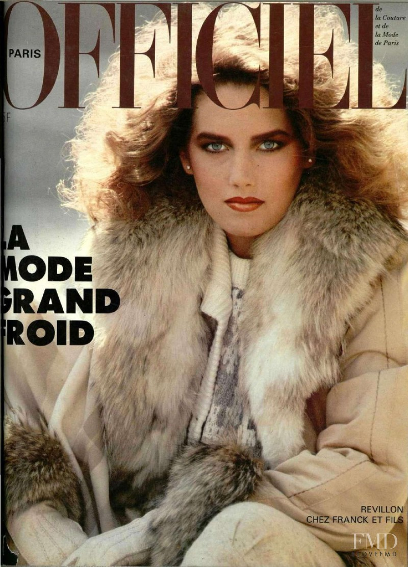featured on the L\'Officiel France cover from November 1981