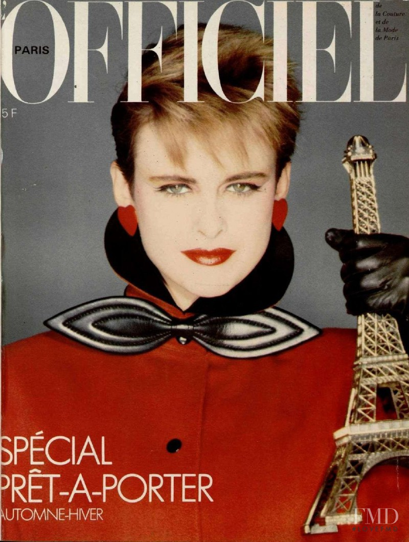 featured on the L\'Officiel France cover from August 1982