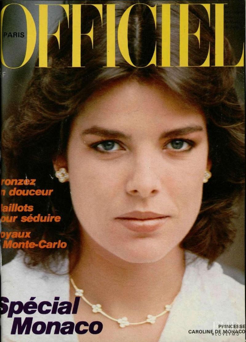 Princesse Caroline De Monaco featured on the L\'Officiel France cover from June 1982