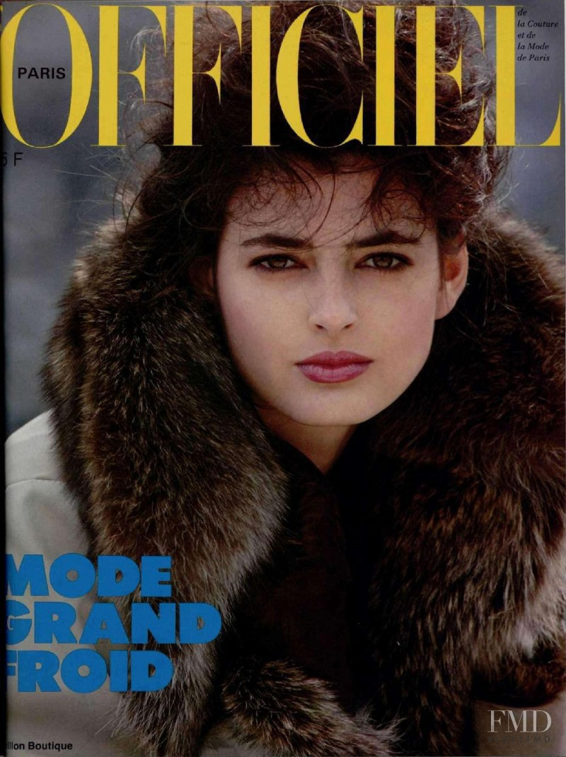 featured on the L\'Officiel France cover from November 1982
