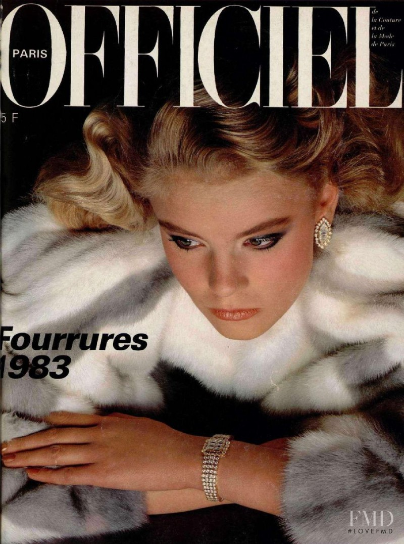 featured on the L\'Officiel France cover from October 1982