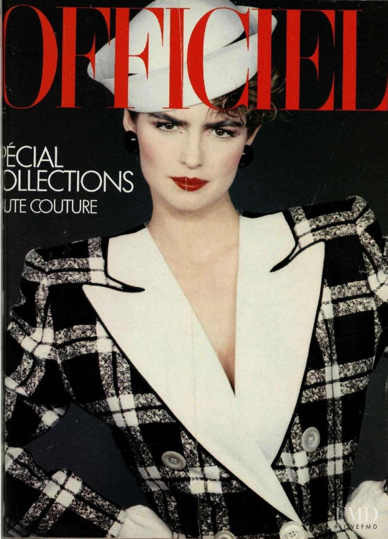 featured on the L\'Officiel France cover from March 1983