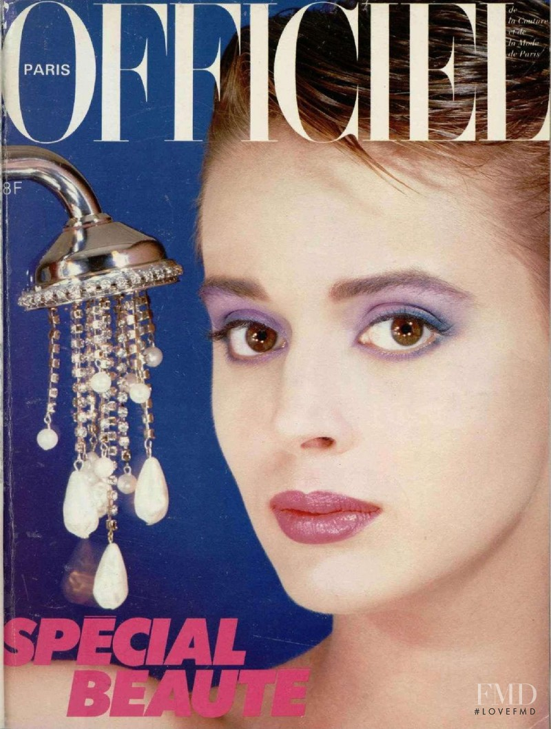 featured on the L\'Officiel France cover from May 1983