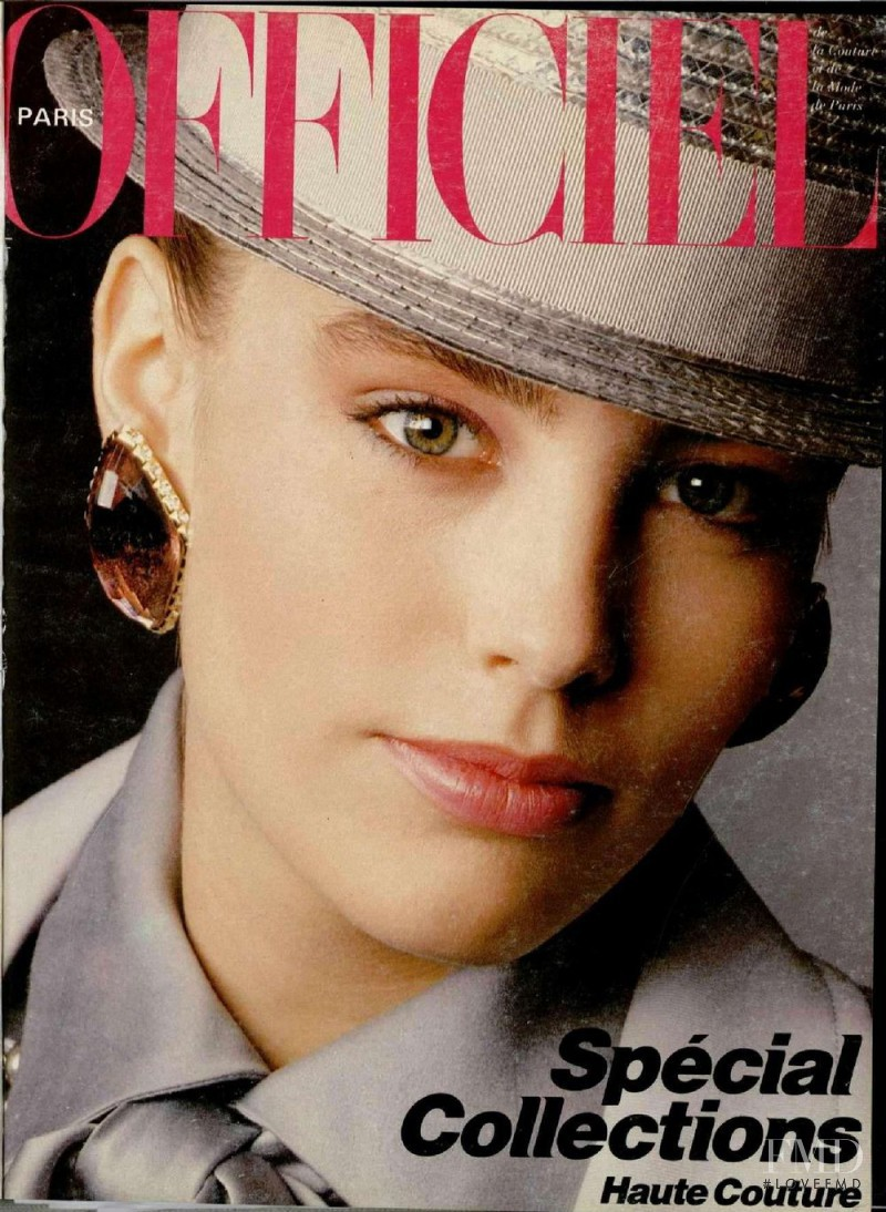 featured on the L\'Officiel France cover from March 1984