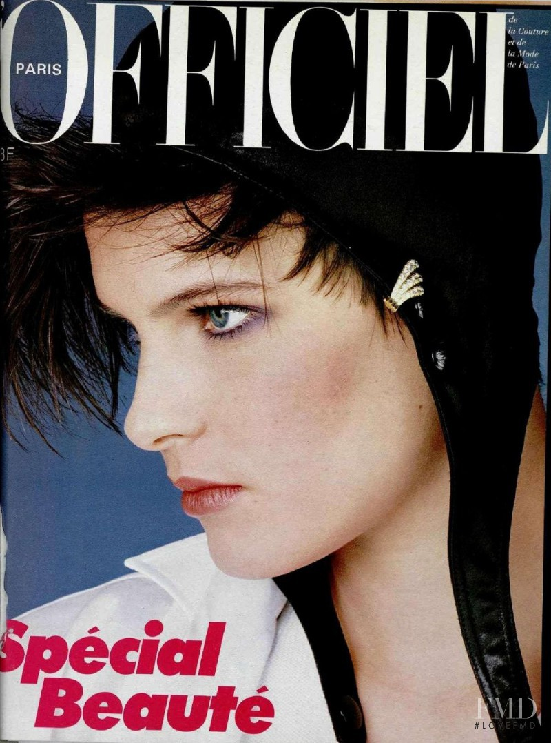 featured on the L\'Officiel France cover from May 1984