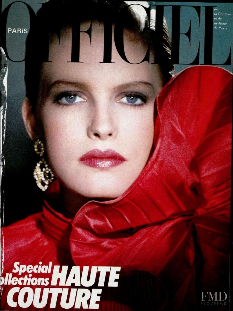 featured on the L\'Officiel France cover from September 1984