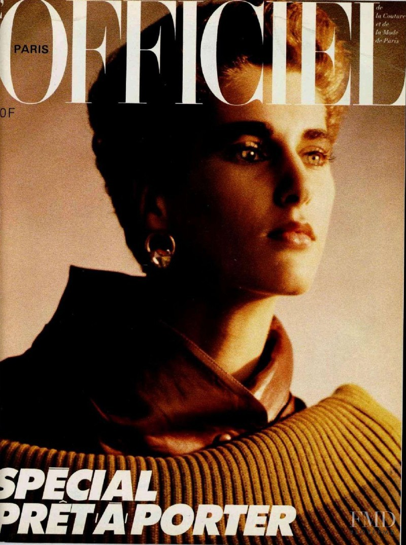 featured on the L\'Officiel France cover from August 1985