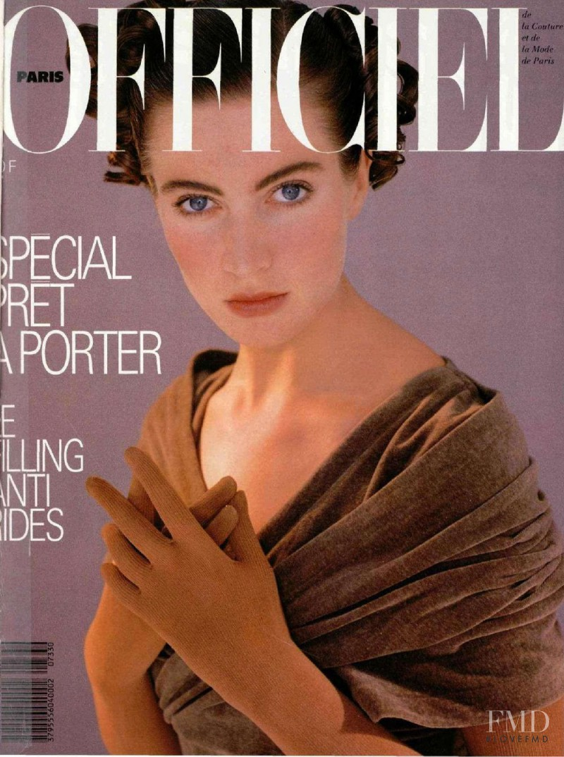featured on the L\'Officiel France cover from June 1987
