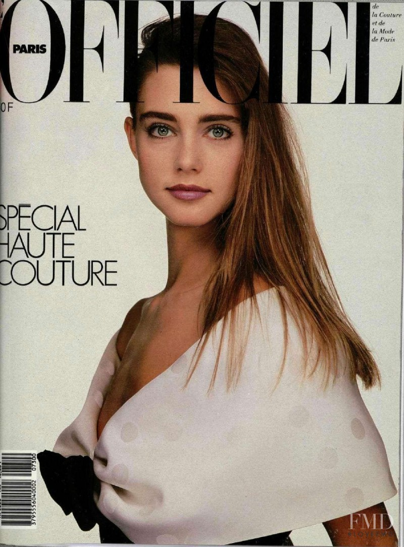 Roberta Chirko featured on the L\'Officiel France cover from March 1987