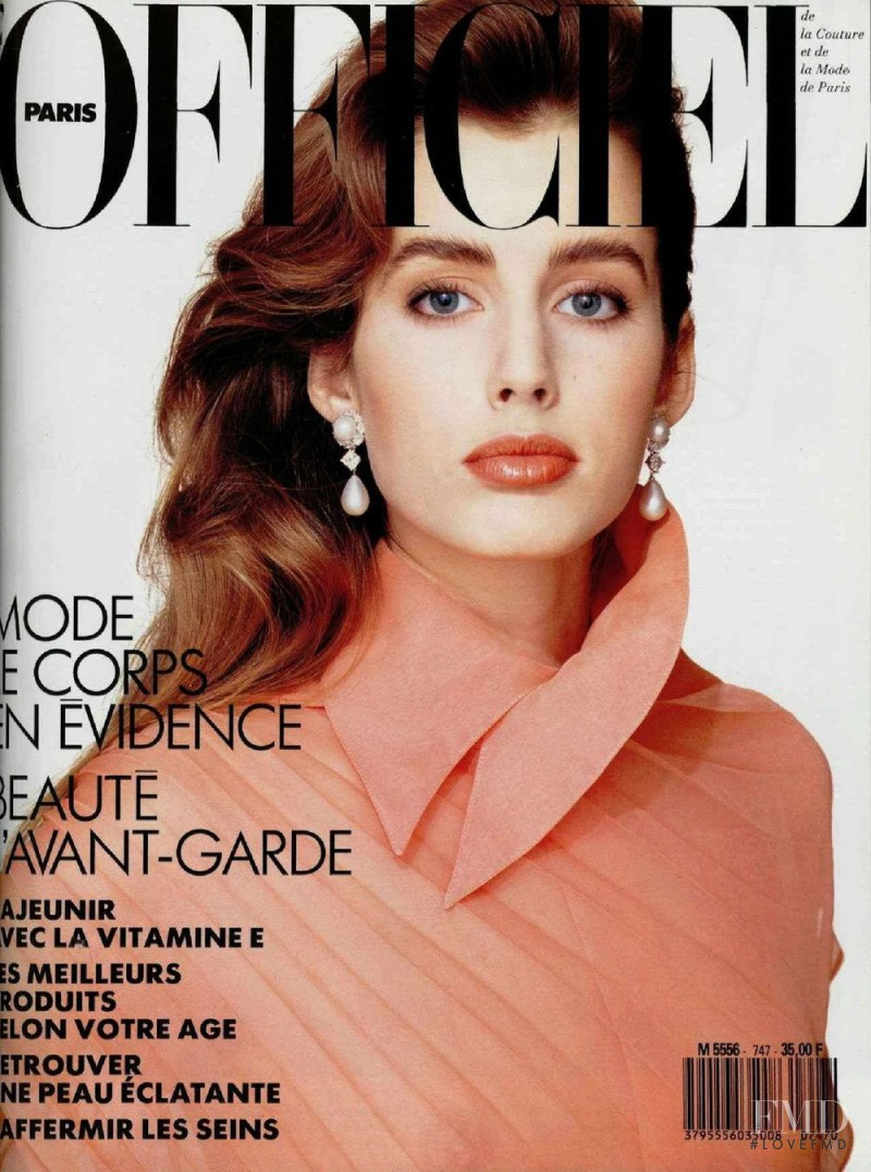 featured on the L\'Officiel France cover from April 1989