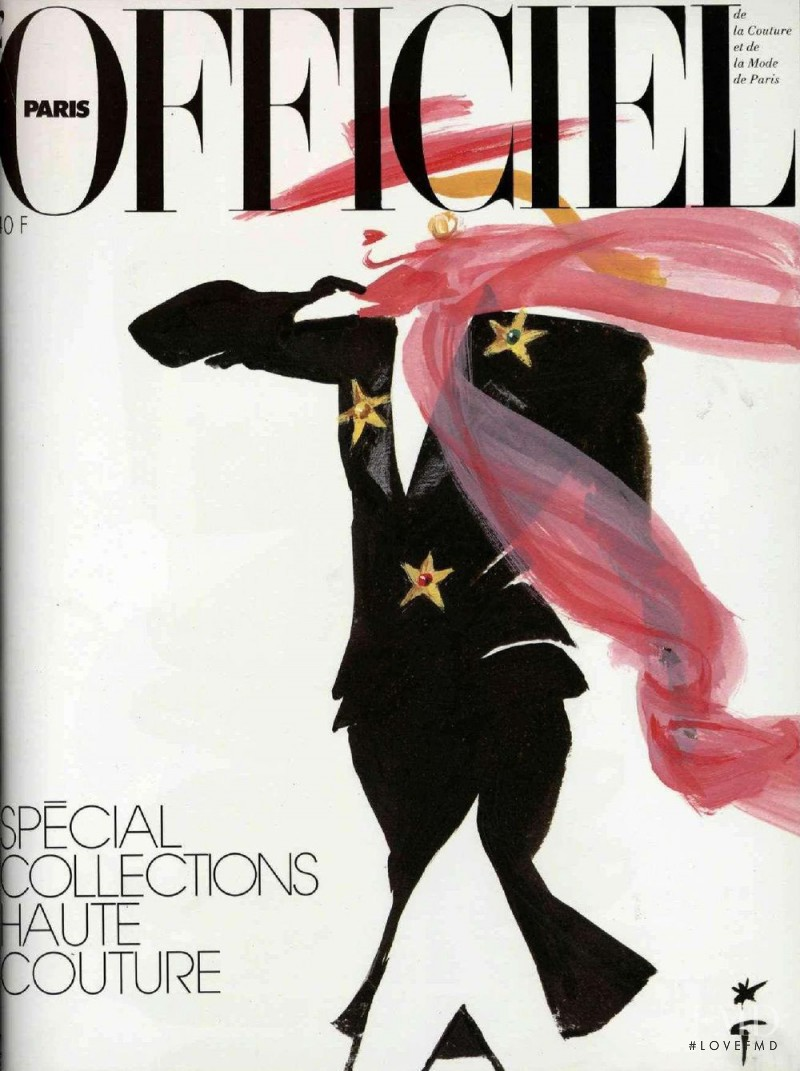 featured on the L\'Officiel France cover from March 1989