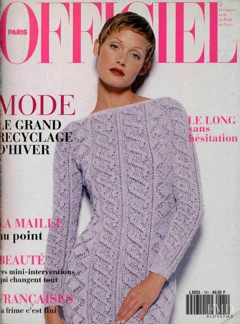 featured on the L\'Officiel France cover from June 1993