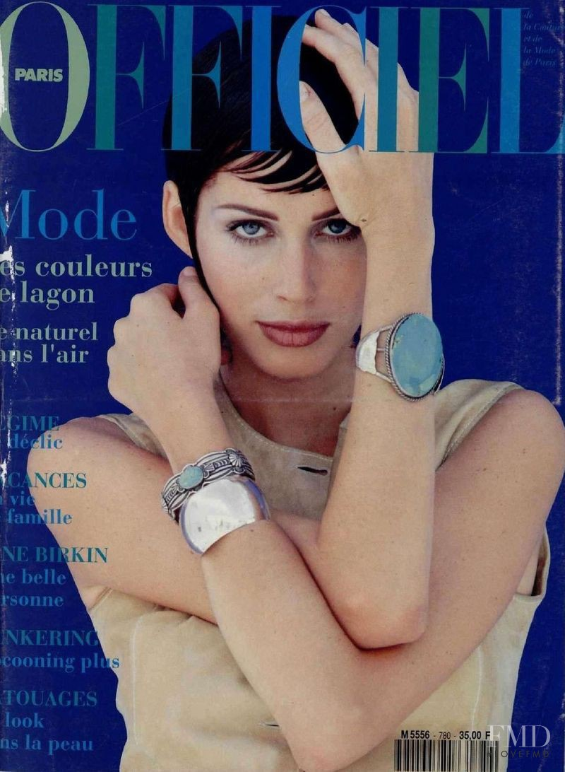 featured on the L\'Officiel France cover from May 1993