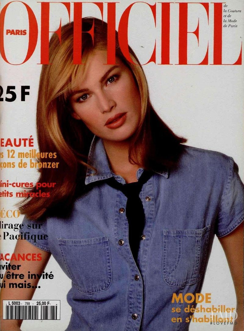 featured on the L\'Officiel France cover from May 1994