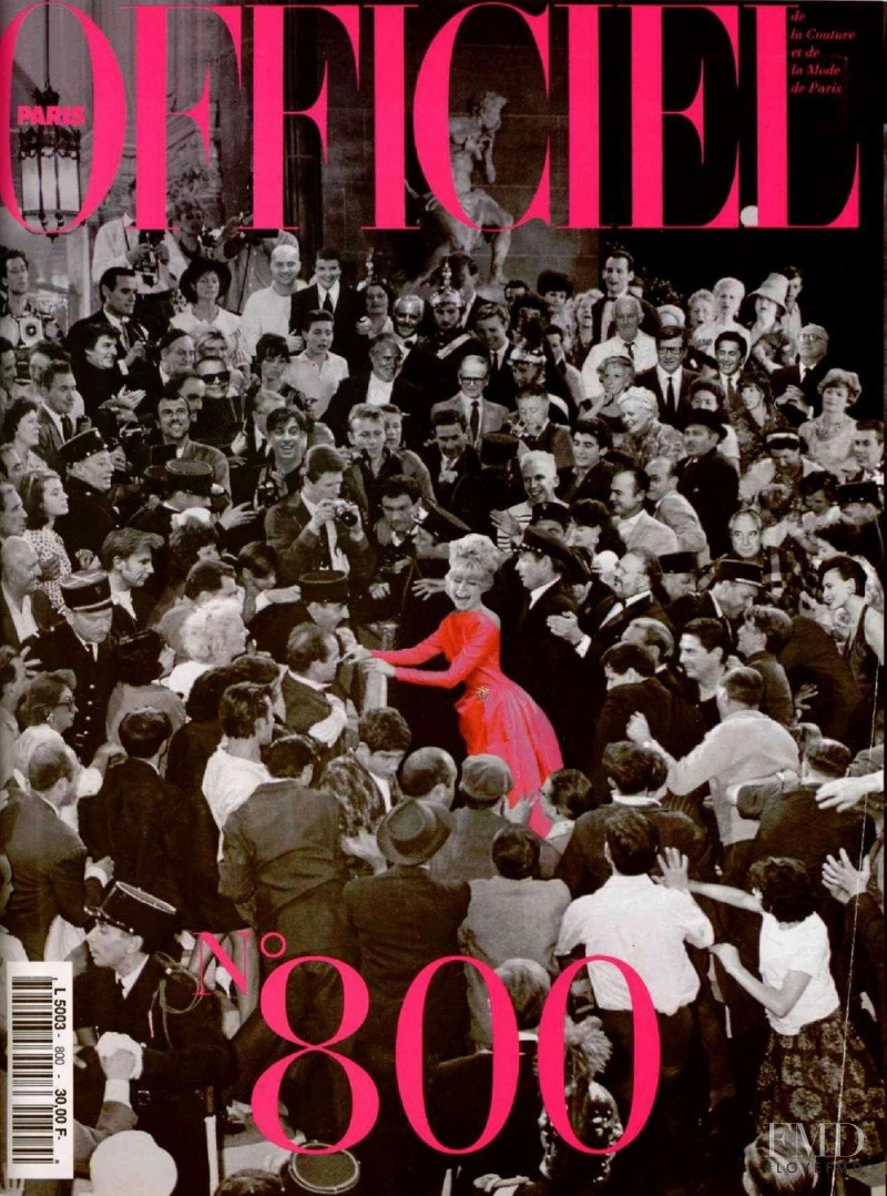 featured on the L\'Officiel France cover from October 1995