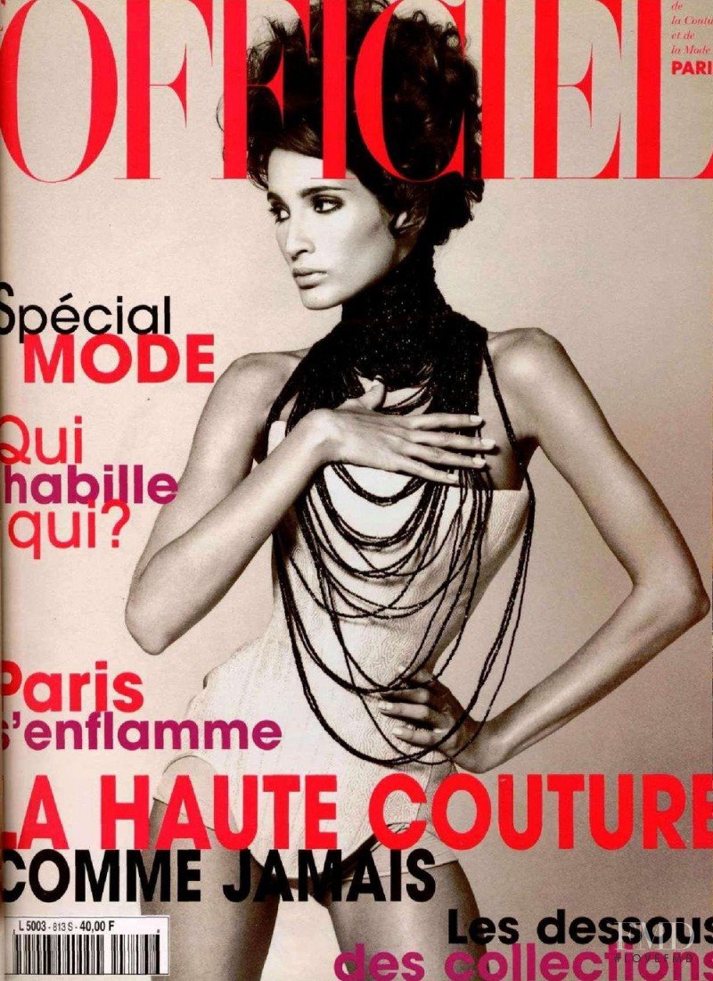 featured on the L\'Officiel France cover from March 1997