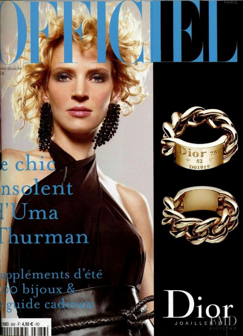 featured on the L\'Officiel France cover from June 2004