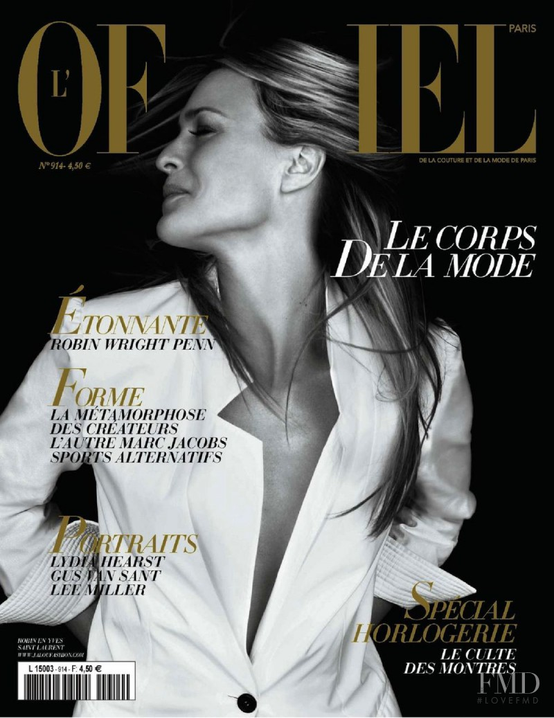 featured on the L\'Officiel France cover from April 2007