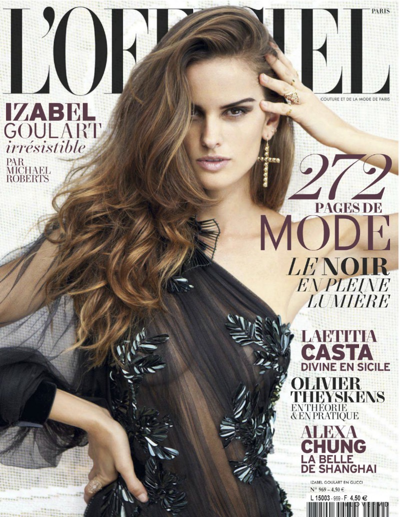 Izabel Goulart featured on the L\'Officiel France cover from October 2012