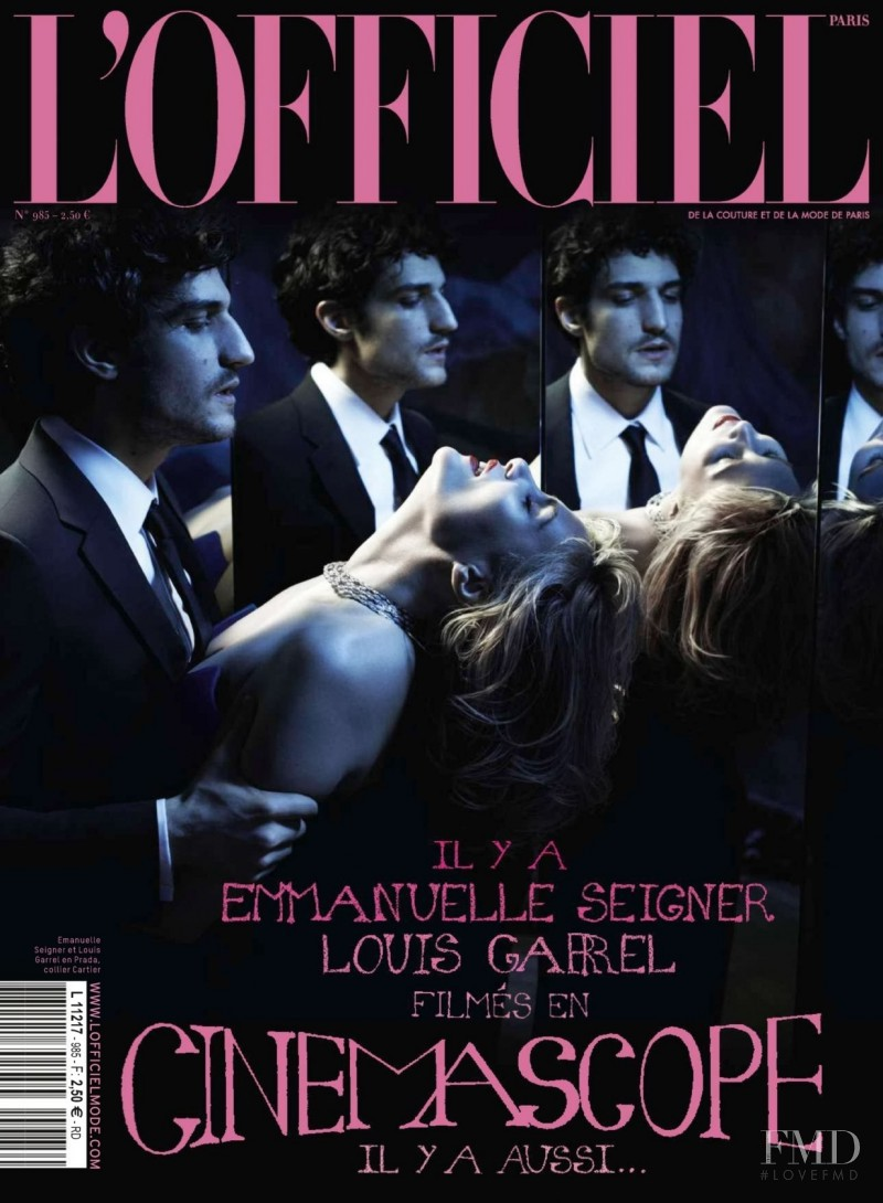 Emmanuelle Seigner featured on the L\'Officiel France cover from May 2014