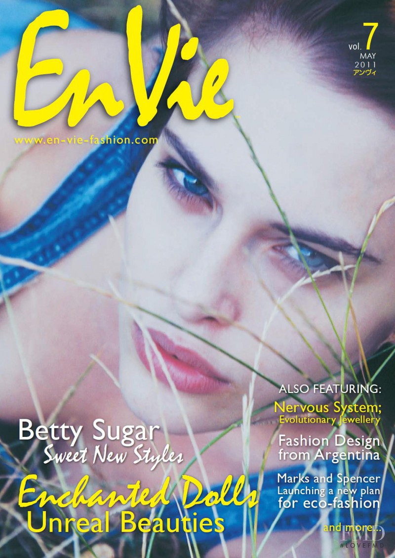 Lana Zakocela featured on the En Vie cover from May 2011