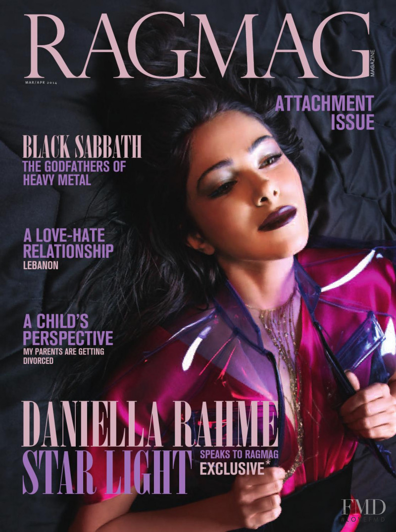 Daniella Rahme featured on the RagMag cover from March 2014