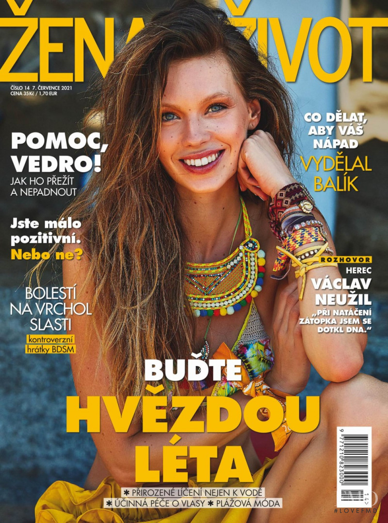 featured on the Zena a zivot cover from July 2021