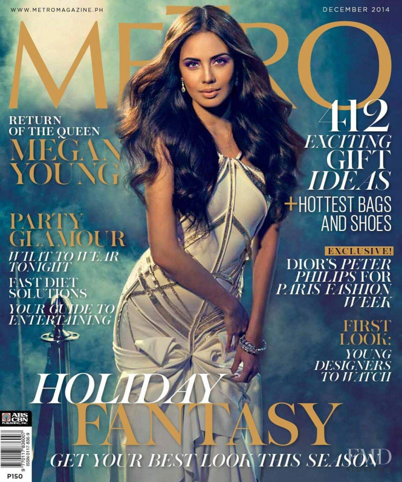 Megan Young featured on the Metro cover from December 2014