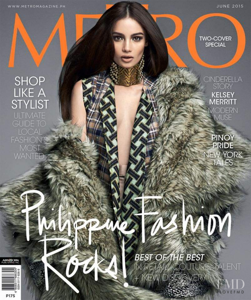 Kelsey Merritt featured on the Metro cover from June 2015