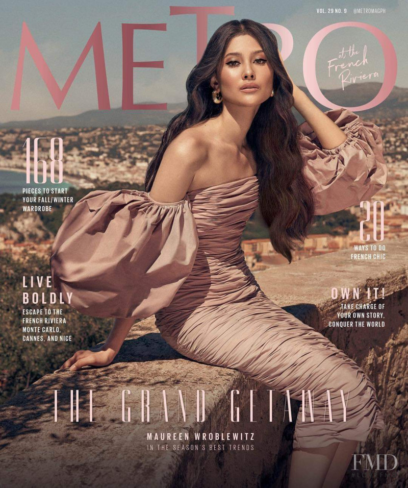 Maureen Wroblewitz featured on the Metro cover from September 2018