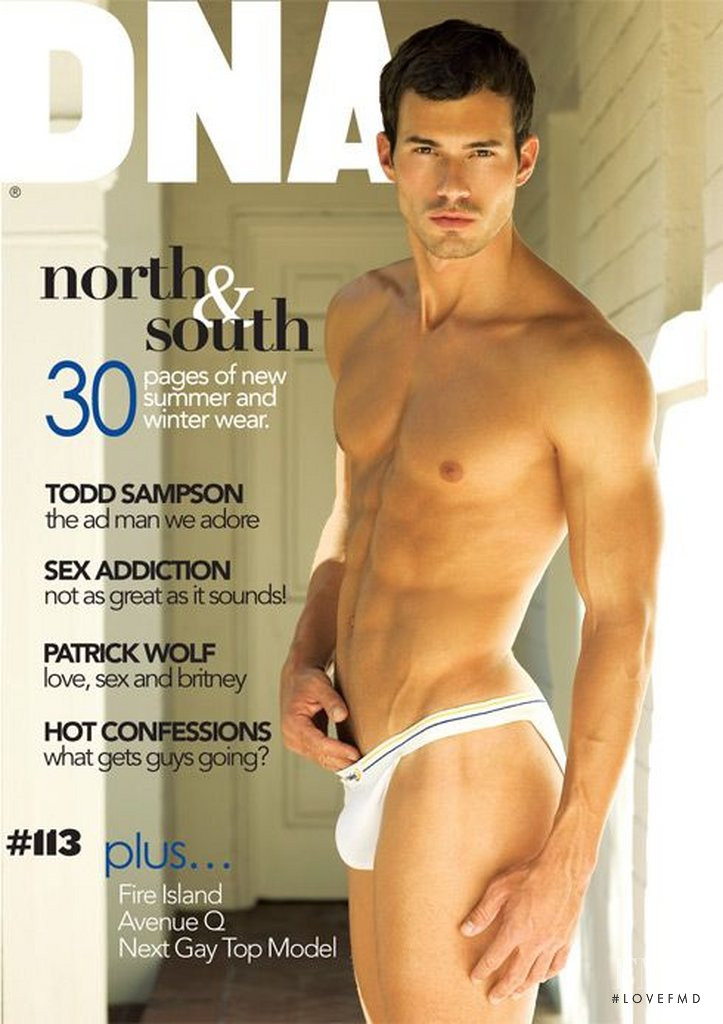 Radoslav Vanko featured on the DNA Australia cover from June 2009