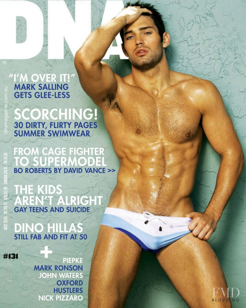 Bo Roberts featured on the DNA Australia cover from December 2010
