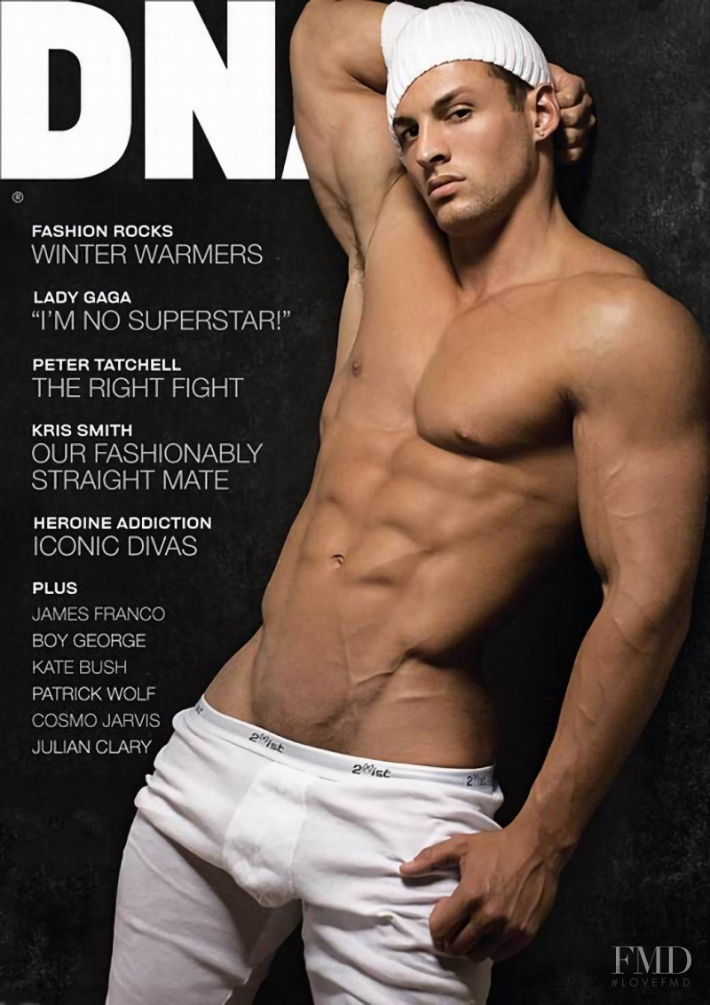 Ryan Hughes featured on the DNA Australia cover from June 2011