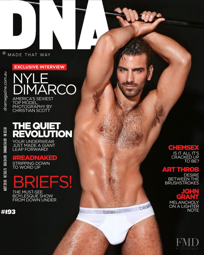 Nyle DiMarco featured on the DNA Australia cover from February 2016